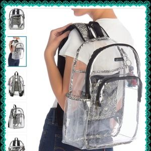 SAKROOTS  CLEAR ARTIST CIRCLE BACKPACK
